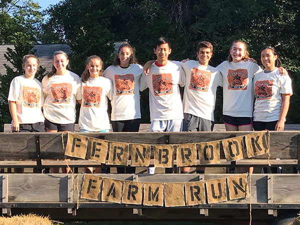 Clean Runners at Fernbrook Farms Farm Run